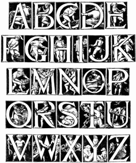 ALPHABET DESIGNED BY GODFREY SYKES