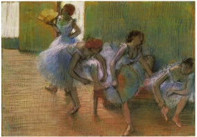 Dancers on a Bench, 1898