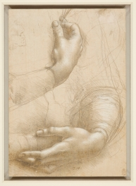 A study of a woman's hands c.1490