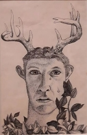 Self-Portrait as Actaeon, 1949