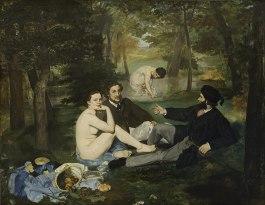 Le Déjeuner sur l'herbe, 1863
