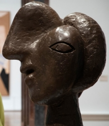 Sculpture, Head of a Woman, 1931-2